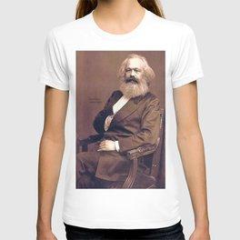 Portrait of Karl Marx by John Jabez Edwin Mayal T-shirt
