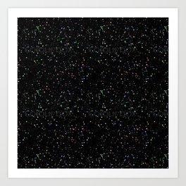 Hubble Star Field Art Print