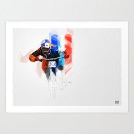 Loic Bruni Art Print
