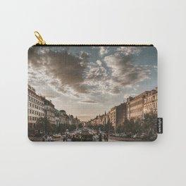 Wenceslas Square in Prague (Czech Republic) Carry-All Pouch