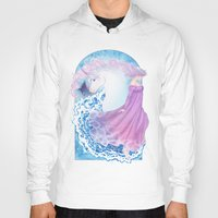 the last unicorn Hoodies featuring Last Unicorn by Roots-Love