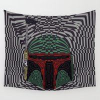 boba Wall Tapestries featuring Boba Effect by Fabian Gonzalez