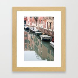 Venice Reflections Framed Art Print