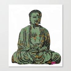 The Big Buddha Canvas Print