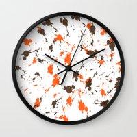 men Wall Clocks featuring Men by Sébastien BOUVIER
