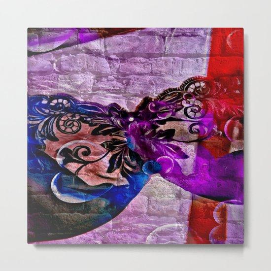Underwear Love: Braffiti Metal Print