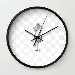'Mannequin' Wall Clock