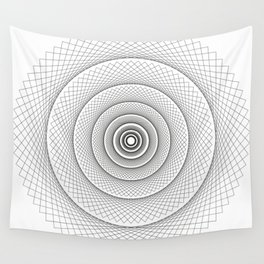 Tangents Wall Tapestry