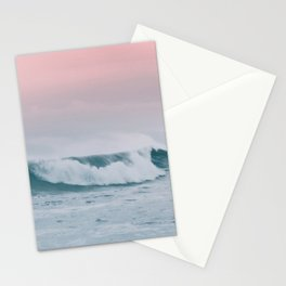 Pale ocean Stationery Cards