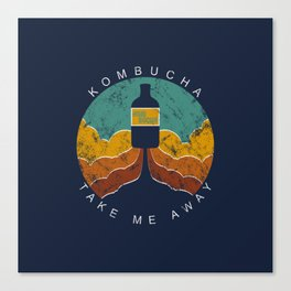 "Kombucha ""Take Me Away"" Canvas Print"
