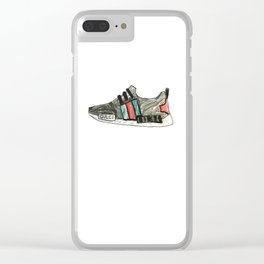 Shoe Sketch 02 Clear iPhone Case