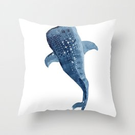 The Shark Star Throw Pillow