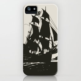 Black pearl iPhone Case