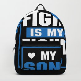 Family Support Diabetic Son Diabetes Awareness Backpack