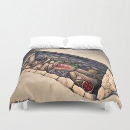 Zapotec Burial Duvet Cover