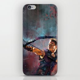 Clint Barton iPhone Skin