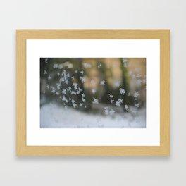"It's frosty ""Ice Flower"" #1 #art #society6 Framed Art Print"