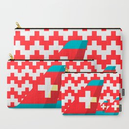Switzerland by Air Carry-All Pouch