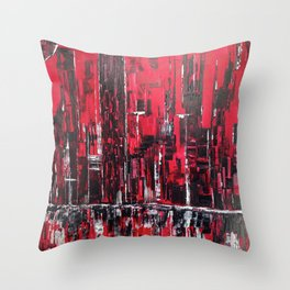 Inflamed Throw Pillow