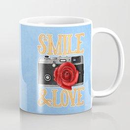 Smile and Love Coffee Mug