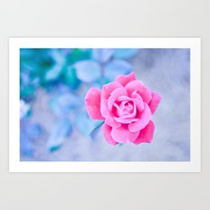 Lovely in Pink Art Print