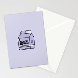 Black Women - Berry Stationery Cards