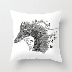 Seri Gumum Throw Pillow