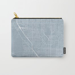 Provo Map, USA - Slate Carry-All Pouch
