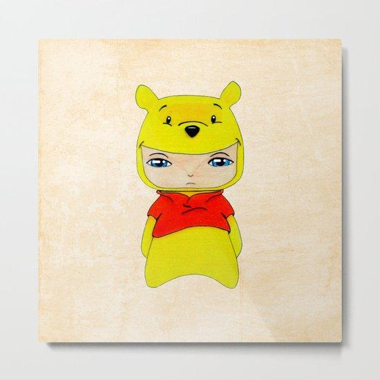 A Boy - Winnie-the-Pooh Metal Print