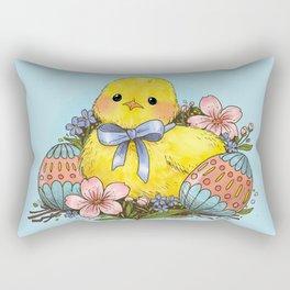 Easter Chick Rectangular Pillow
