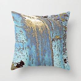 "series waterfall ""Cachoeira Grande"" III Throw Pillow"