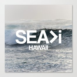 SEA>i  |  The Wave Canvas Print