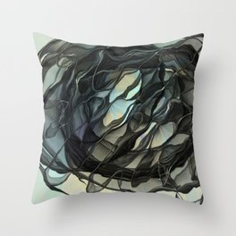 Shade of Life Throw Pillow