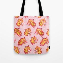 Tigerpop pattern Tote Bag