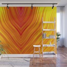 stripes wave pattern 3 eei Wall Mural