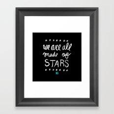 Made of Stars Framed Art Print