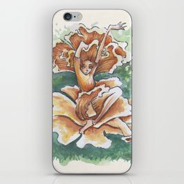 Empire of Mushrooms: Cantharellus cibarius iPhone Skin