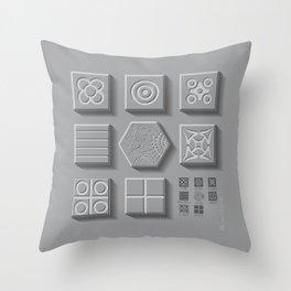 Panots, Barcelona Throw Pillow