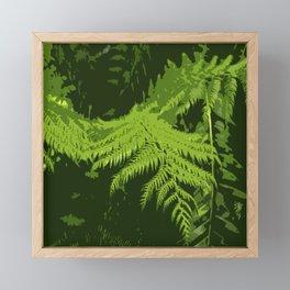 Forest Ferns Framed Mini Art Print