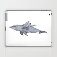Dolphin Mama and Baby Laptop & iPad Skin