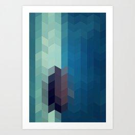 OCEAN STAR Art Print