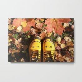 Autumn Smile Metal Print