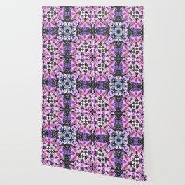 Kaleidoscope of night flowers Wallpaper