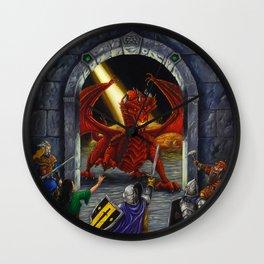 Gateway to Adventure Wall Clock