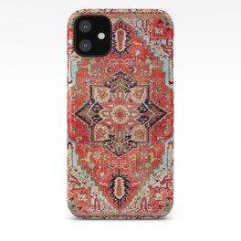 Heriz Azerbaijan Northwest Persian Rug Print iPhone Case