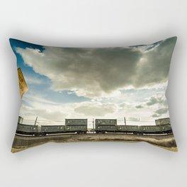 By The Riverside #6 Rectangular Pillow
