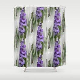 Purple Love... Shower Curtain