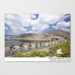 USA Pro Cycling Challenge 2012 - Cadel Evans and George Hincapie Canvas Print