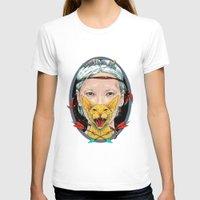 daria T-shirts featuring crystal goddess by Daria Golab