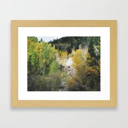 Sign of the Past Framed Art Print